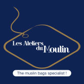 Sachet mousseline – Les Ateliers du Moulin