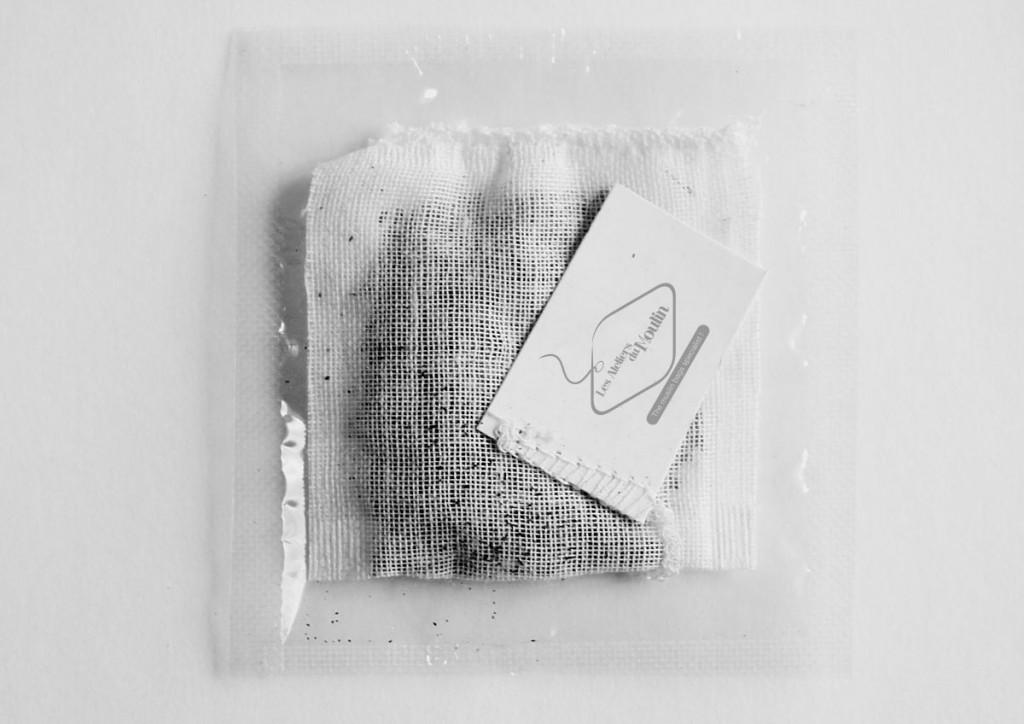 tea bags in a clear film