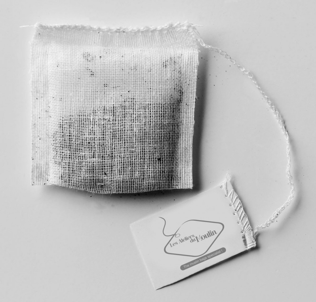 muslin cotton bags with tags